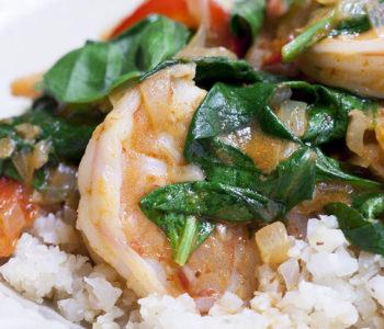 whole30 curry shrimp